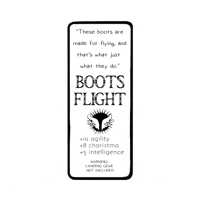 Boots of Flight: Back