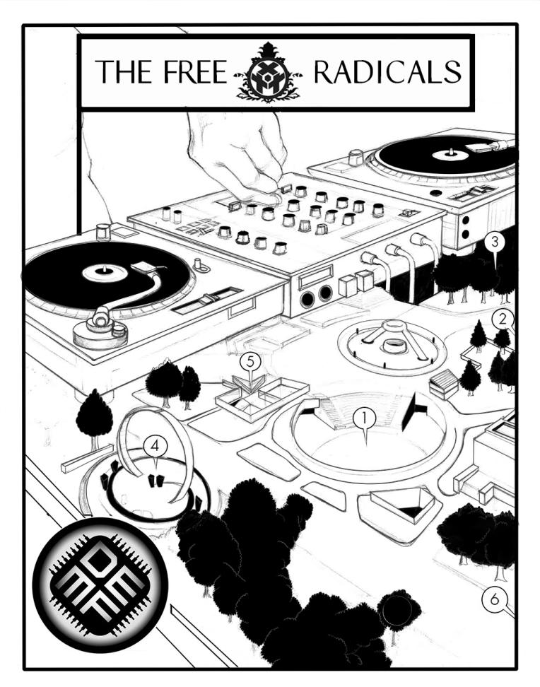 Free Radicals DEMF Title