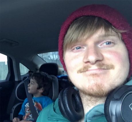 Levi & Paul Car Ride